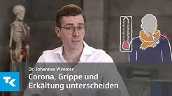 Wie kann ich Corona, Erkältung und Grippe voneinander unterscheiden? | Dr. Johannes Wimmer