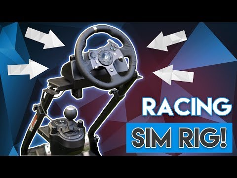 The ULTIMATE Racing Sim Setup! [ft. Logitech G920 & GT Omega!]