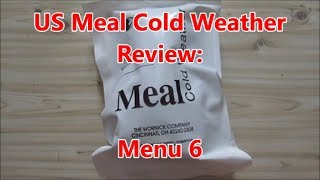 US Ration Review:  2018 US Meal Cold Weather Menu 6: Seafood Chowder