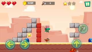 Jungle Adventures: Super World - Sahara Level 12... Gameplay (Free Game On Android)