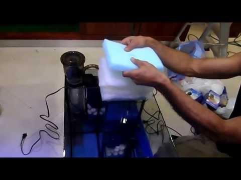 aquarium-diy-sump-filter,-sump-super-compacto(parte-3),ensamblado-componentes-internos