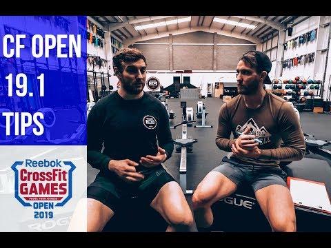 Reebok CrossFit Games Open 19.1 Tips & Strategy