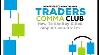 How to Set Buy & Sell Stop/Limit Order (MT4) Forex Trading