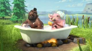 Clash of Clans Ride of the Hog Riders Official TV Commercial 1