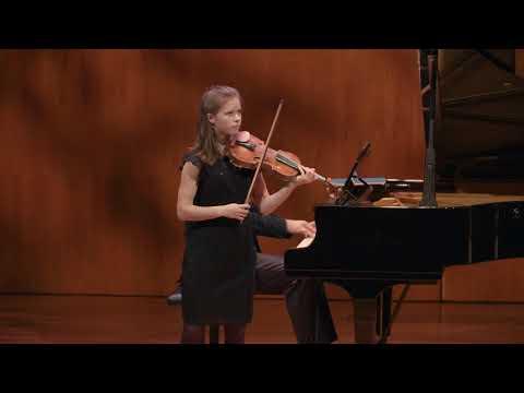 Halvefinalist Matthia Elders -  Davina van Wely Prijs Nederlands Vioolconcours 2020
