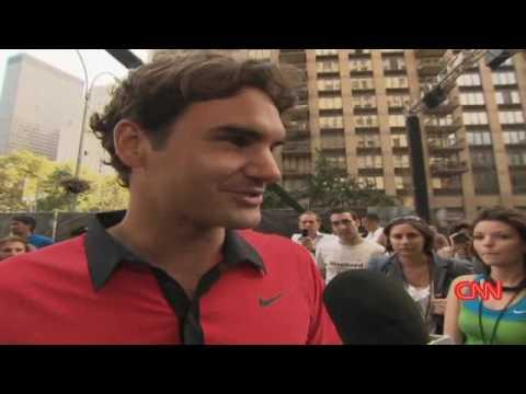 Federer, twins take on Open