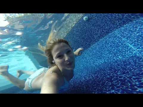 GoPro champagne pool