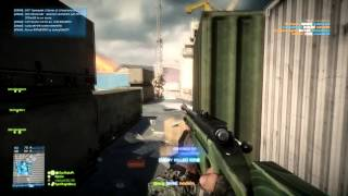 BF3, Battlefield 3 My first Minitage Aggressive Recon No scoping