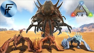 Killing 15 Deathworms SOLO in Ragnarok - ARK: Survival Evolved