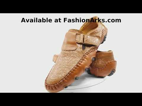 Fashion Arks Lucas - Soft Split Leather Loafers