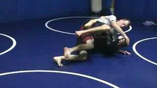 Reverse Hook Sweep to Kneebar