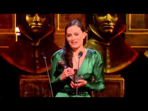 The Laurence Olivier Awards 2016: Lara Pulver's acceptance speech