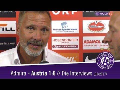 Interviews nach Admira - Austria