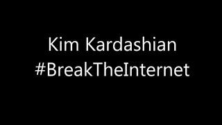 Kim Kardashian Break The Internet Drawing by Savage Dax #BreakTheInternet