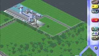 Sim City 3000 How to build a big city Part 15 - Airport