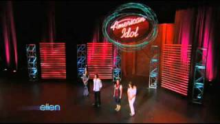 Ellen's Exciting First Day at 'American Idol'