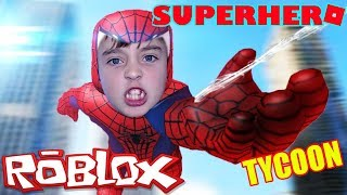 ROBLOX SUPERHERO TYCOON: SOY SPIDERMAN