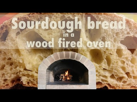 Sourdough Bread In A Wood Fired Oven | Crispy, Fragrant And Flavourful Bread At Home