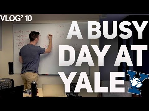 a busy day at yale