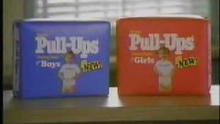 Pull-Ups Diapers Ad from 1992
