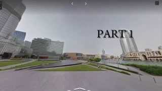Burj Khalifa On Google Street View Part-1[HD]