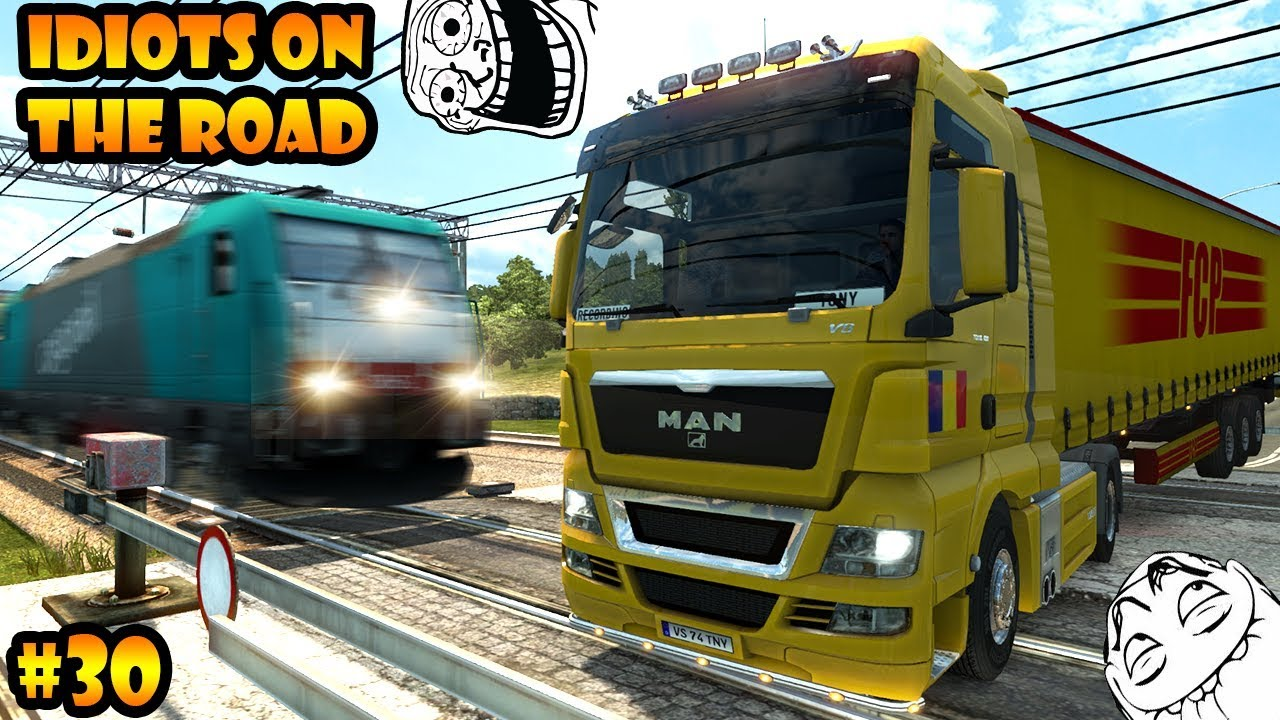 cc6d229763f IDIOTS on the road #30 - ETS2MP | Funny moments - Euro Truck Simulator 2  Multiplayer