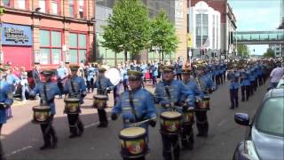 36th Ulster Division Mem Association Parade Belfast 9/5/2015 (Part3)