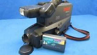 Retro Review - Old School RCA VHS Camcorder from the 1990