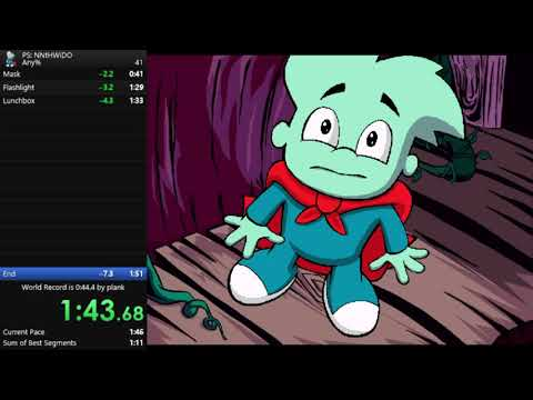 Pajama Sam: No Need To Hide When It's Dark Outside | Any% | 1m 46s |