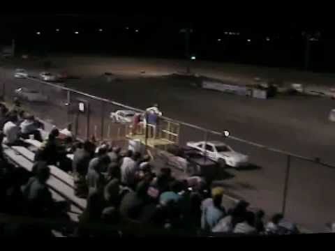 Texas Thunder Speedway March 31, 2012 IMCA Stock Car A-Main