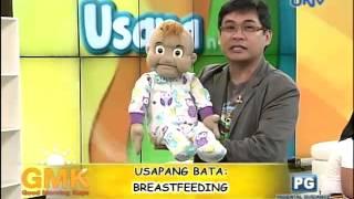 Wanlu and Baby Bryan: Breastfeeding for babies thumbnail