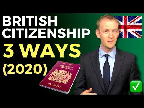 How To Get British Citizenship (3 Ways) As An Entrepreneur 🇬🇧 ✅