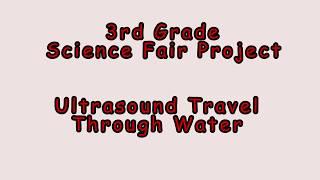 3rd Grade Science Fair