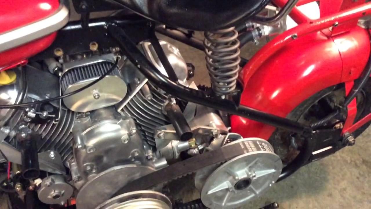 Putting The 670 cc Predator V-Twin Motor in my 1961 Cushman Eagle 🦅  !