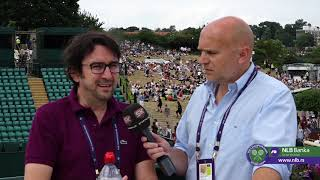 Wimbledon 2019   Viško i Cvija Veruju u Pobedu Đokovića u Finalu protiv Federera   SPORT KLUB Tenis