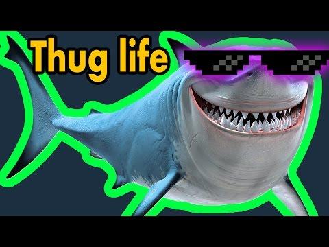 Thug Life Köpek Balığı - Minecraft Build Battle
