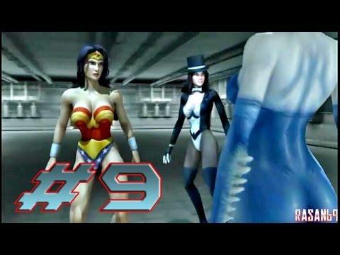 Justice League Heroes (PSP) walkthrough part 9 - YouTube