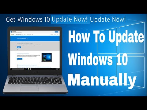 how-to-update-windows-10-manually-2018-new-releases-update-from-microsoft