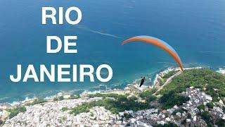 Flying in Rio de Janeiro   Brazil paragliding