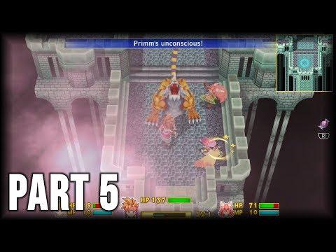 Secret of Mana - 100% Walkthrough Part 5 [PS4] – The Witch