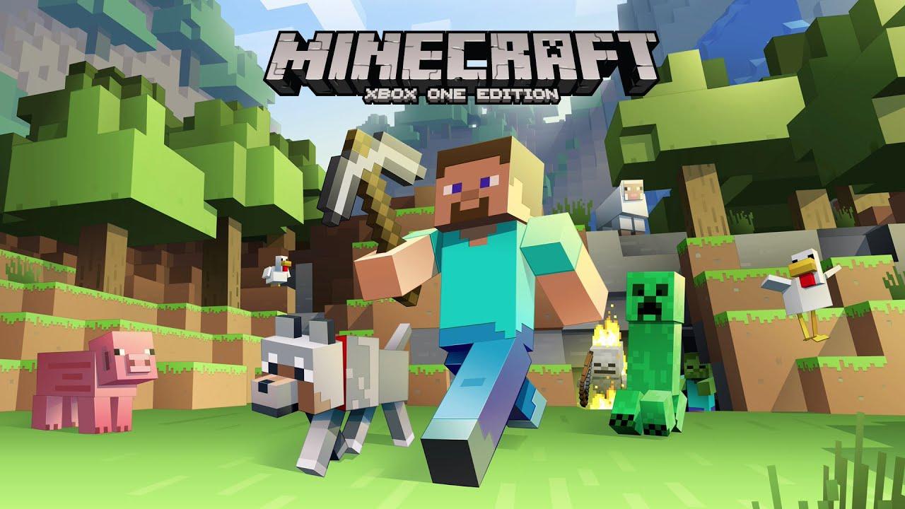 Minecraft Xbox One Edition Unser Erster Eindruck YouTube - Minecraft online spielen wie geht das