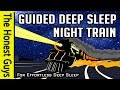 GUIDED SLEEP MEDITATION STORY: Night Train to the Coast (Immersive High-Quality Audio)