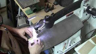 Dovetail joints on the scroll saw. The easy method.