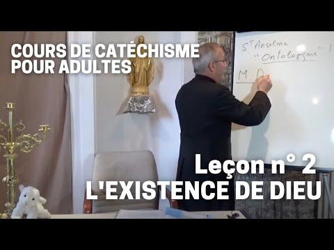 Catéchisme (2/32) - L'existence de Dieu