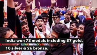 India just won 73 medals in Special Olympics Winter games