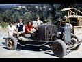 Adams Family in 1930 Roadster