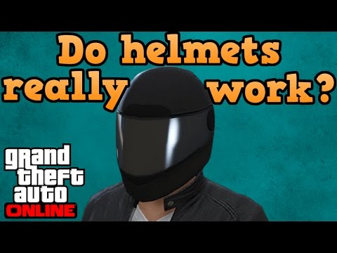 GTA online guides - Do bike helmets protect your head?