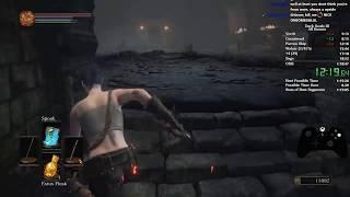 Dark Souls 3 All Bosses Speedrun World Record [1:18:17]