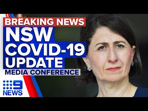 Coronavirus: NSW Premier provides COVID-19 update | 9 News Australia thumbnail