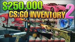 CS:GO $250.000 INVENTORY biBa #1 World Inventory! Alles verkaufen?